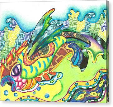 Folami - Fish Canvas Print