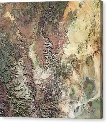 Fish River Canyon Canvas Print