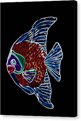 Fish Tales Canvas Print by Shane Bechler
