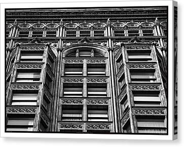 Fisher Building - 10.11.09_028 Canvas Print by Paul Hasara