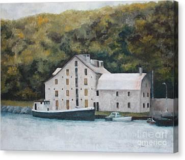 Fisheries Building Canvas Print