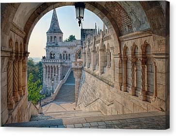Fisherman's Bastion Budapest Canvas Print