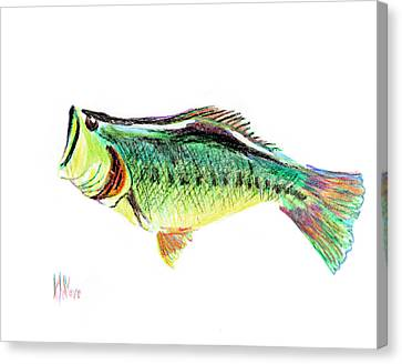 Fishermans Delight Canvas Print by Kip DeVore