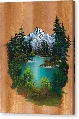 Angler's Fantasy Canvas Print by C Steele