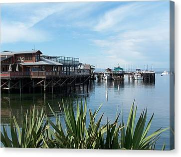 Fishermans Wharf Canvas Print