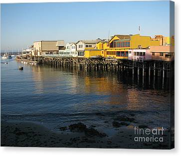 Fisherman's Wharf Canvas Print by James B Toy