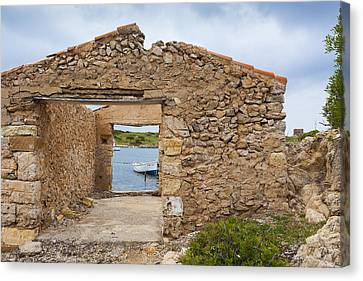 Fishermen's House Canvas Print by Antonio Macias Marin