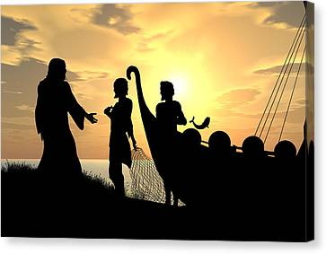 Fishers Of Men Canvas Print