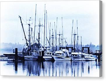 Fishers' Wharf Canvas Print