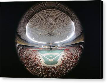 Houston Astros Canvas Print - Houston Astrodome by Retro Images Archive