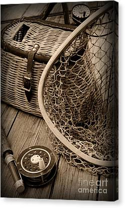 Fishing - All That Gear Canvas Print by Paul Ward