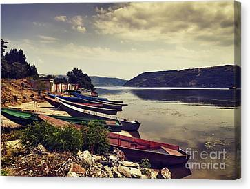 Fishing Boats  Canvas Print by Jelena Jovanovic