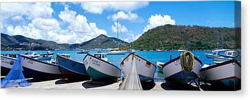 Charlotte Canvas Print - Fishing Boats St Thomas Us Virgin by Panoramic Images