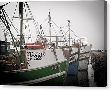 Fishing Boats Canvas Print by Tom Hudson