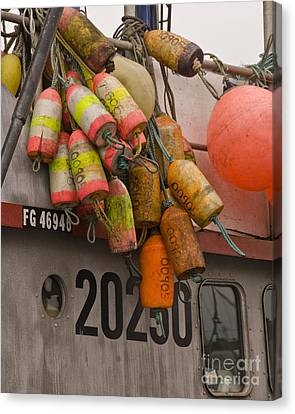 Fishing Bouys Canvas Print by John Remy