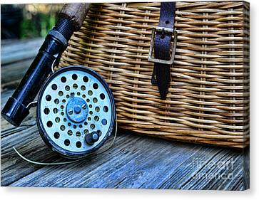 Fishing - Fly Fishing Canvas Print by Paul Ward