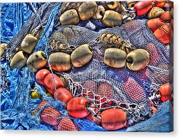 Fishing Gear Canvas Print by Heidi Smith