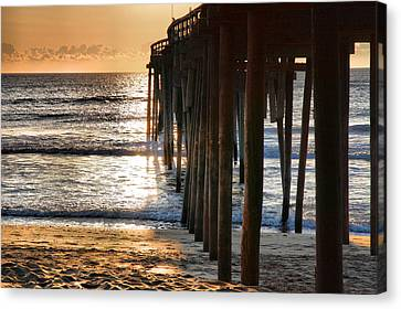 Fishing Pier IIi Canvas Print by Steven Ainsworth