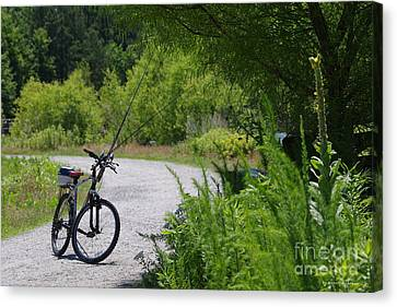Canvas Print - Fishing Ride by Tannis  Baldwin