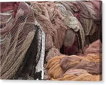 Fishnets Canvas Print by Frank Tschakert