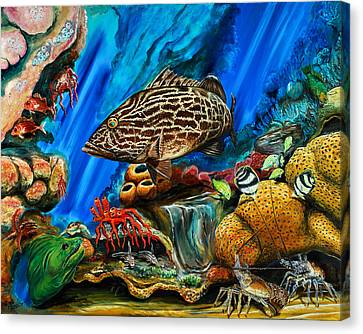 Fishtank Canvas Print