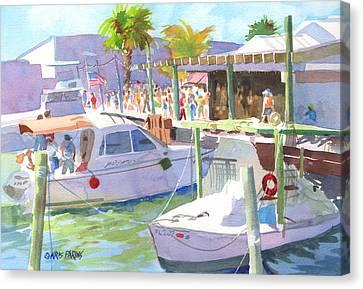 Fishtown Festival Canvas Print