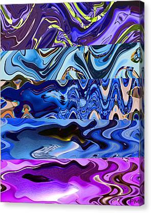 Fishy Wave Canvas Print