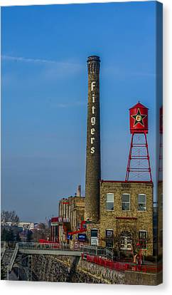 Fitgers Hotel And Brewery Canvas Print