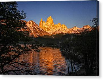 Fitz Roy Massif Canvas Print by Gary Hall