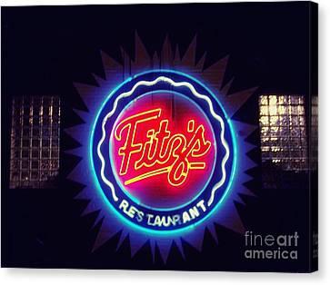 Fitz's Restaurant 2 Canvas Print
