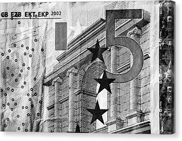Five Euro Canvas Print by Semmick Photo