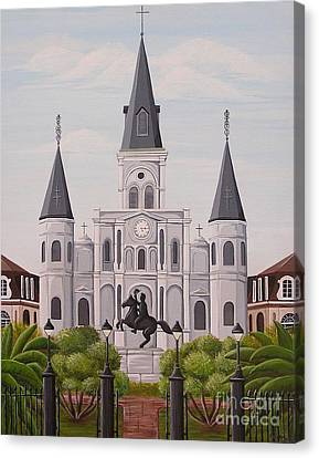 Five Fifteen In New Orleans Canvas Print