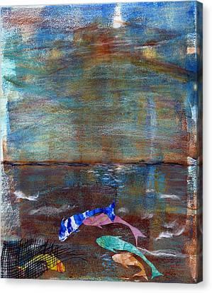 Five Koi Canvas Print