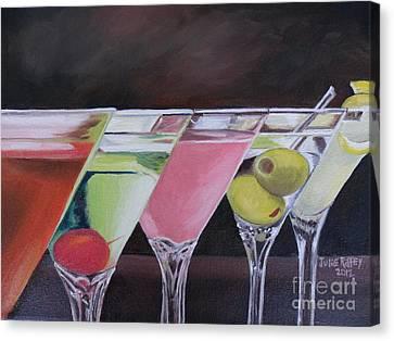 Five O'clock Canvas Print by Julie Brugh Riffey