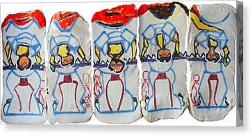 Five Wise Virgins Algorithm Canvas Print