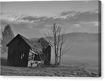 Canvas Print featuring the photograph Fixer Upper by Paul Noble