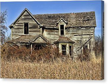 Fixer Upper Canvas Print by Ron Roberts