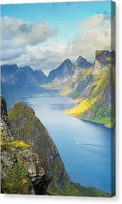 Fjord Canvas Print