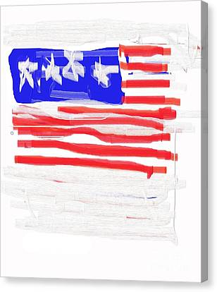 Flag Canvas Print by Jay Manne-Crusoe