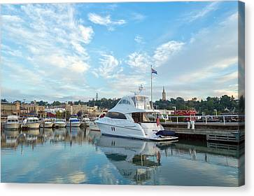 Flag View II Canvas Print