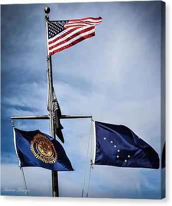 Flags Canvas Print
