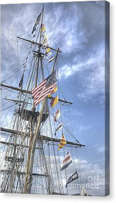 Tall Ship Canvas Print - Flagship Niagara by David Bearden