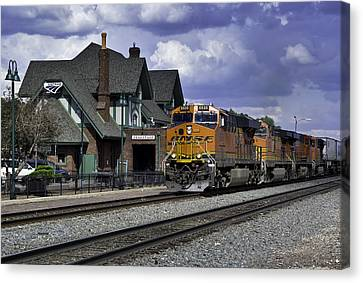 Flagstaff Station Canvas Print