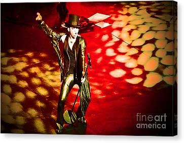 Showman Canvas Print