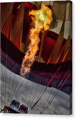 Flame On Two Canvas Print by Bob Orsillo