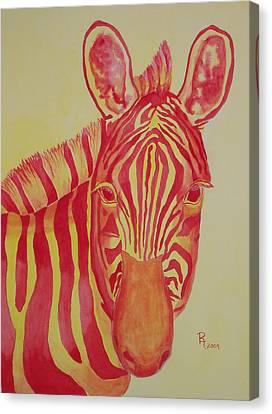 Flame Canvas Print by Rhonda Leonard
