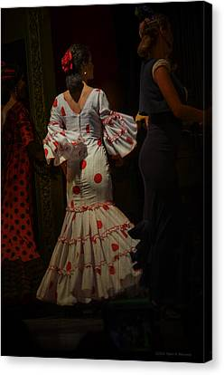 Flamenco Dancer #14 Canvas Print