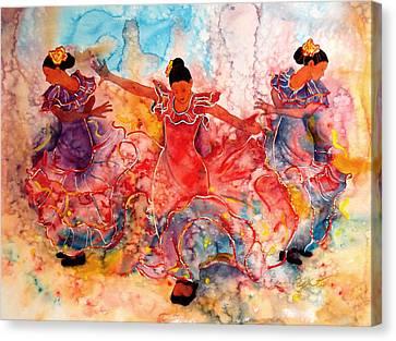 Flamenco Canvas Print by John YATO
