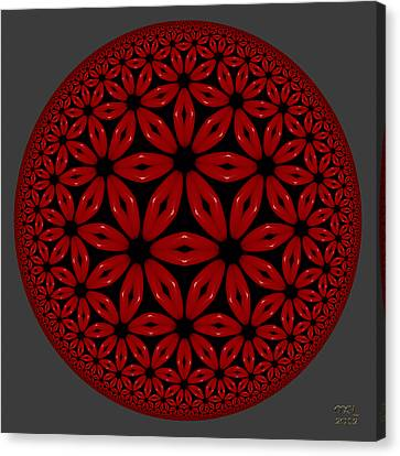 Flamenco Canvas Print by Manny Lorenzo