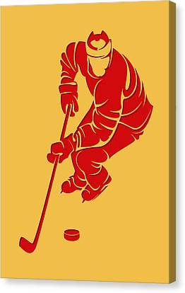 Flames Shadow Player3 Canvas Print